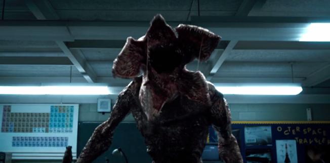 Demogorgon rapta niños y los lleva al Upside Down.